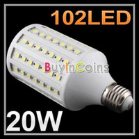 Wholesale E27 E26 E14 B22 W SMD LEDS Led Corn Lamp Corn Light V V Energy Saving Led Bulbs Warm Pure Cool