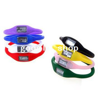 Unisex Water Resistant Red Colorful Silicone Rubber Anion Sports Bracelet Unisex Wrist Watch 30pcs lot ,Freeshipping Dropshipping wholesale