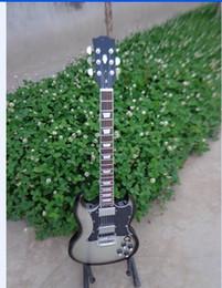 g400 electric guitar model in silverburst