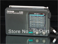 Wholesale high qualty Tecsun R world band transistor radio FM MW SW support universal mode the listener