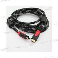 best hdmi cords - Tracking number HDMI TO HDMI CABLE CORD M FT Male M M for HDTV PS3 GOLD wholesales Best quality LLY83