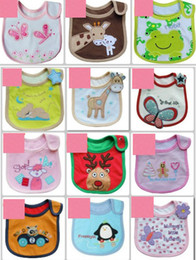 Wholesale Baby Bibs Baby bib Infant saliva towels Baby styles Random delivery Waterproof bib Mark Baby wear