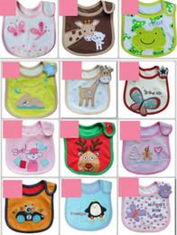 Wholesale Baby Bibs Baby bib Infant saliva towels Baby styles Random delivery Waterproof bib Mark Baby wear