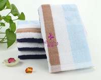 Wholesale 39 cm g Long sports towel Soft and Comfortable healthy bath towels cotton Beach Towel