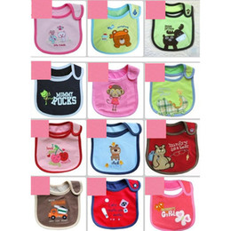 Wholesale Cotton Baby bib Infant saliva towels Baby Waterproof bib styles Random delivery Baby wear retail
