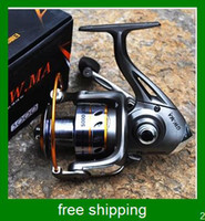 Cheap Free shipping hot sale GW.MA6000 5.14:1 GEAR RATIO Metal Spinning Reels Fishing Tackle Lure Fishing Reels