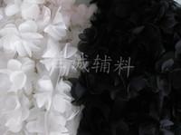 beautiful black dolls - White Black yard quot beautiful Flower Lace Chiffon Fabric Trim DIY Bridal wedding Doll More Shape