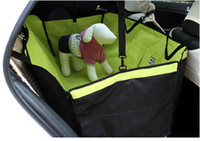 Wholesale Pet Dog Cat Rear Back Seat Car Seat Covers Protector Safety car waterproof pad