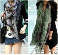 Wholesale Retial New Arrival Korean fashion ladys autumn and winter scarves shawls extended to increase