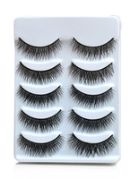 Wholesale Hotsale promotion Pairs long Natural False Eyelashes Hand Made MakeUp Cosmetic H2000A