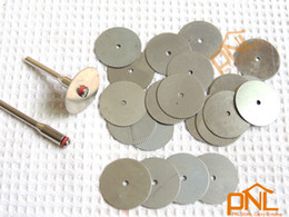 Wholesale 18Pcs with pc mm shank Dia mm Circular Saw Blades Wood Cutter for Dremel Rotary tools mimi saw disc