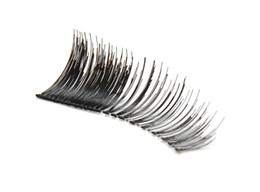 Wholesale Hotsale promotion Pairs Clear fake Natural False Eyelashes Hand Made MakeUp Cosmetic H2010A