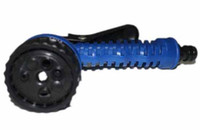 Wholesale Blue green Water Gun Water pipe Spray Nozzle Expandable garden hose Sprayers and Nozzles Pattern Function