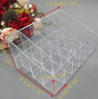 Wholesale Cosmetic Makeup Lipstick Storage Display Stand Case Rack Holder Organizer