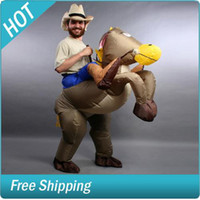 Wholesale Inflatable Cowboy Horse Suit Costume Fancy Dress Party Dresses