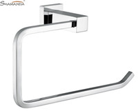 brass bathroom accessories holder - Towel Ring Towel Holder Solid Brass Construction Chrome Finish Bathroom Hardware Bathroom Accessories