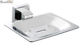 Wholesale Soap Dish Soap Holder Solid Brass Construction Chrome Finish Bathroom Hardware Bathroom Accessories