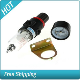 Wholesale Freeshipping Air Filter Compressor Regulator Inch Pressure Gauge