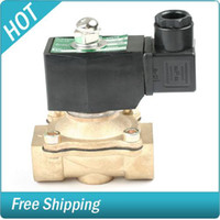 Wholesale Water Gas Solenoid Electric Valve quot V