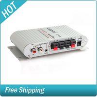 Wholesale 180W V Car Bike Mini Amplifier Amp Radio MP3 for Speakers