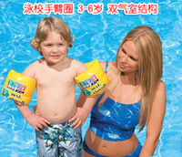 Wholesale Mixed delivery Genuine U S INTEX inflatable water swimming arm circle sleeves and double balloon floating ring sleeve thicken over hundred