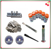 Wholesale bga reballing station and bga stencils solder ball wick scraper bga kit