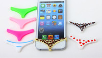 Wholesale Touch Home Button Briefs Underwear Design Silicone Anti Dust Plug Home Key Sticker for iphone g g s skull strawberry leopard New