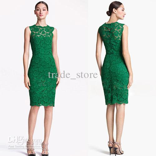 2016 New Bodycon Lace Dress Hot Fashion Summer Prom Party Dress ...