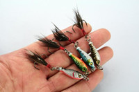 wholesale lure - 15pcs Lead Fishing Lure MINI LEAD FISHING LURE BASS WALLEYE G Fishing Crankbait Lure Lead Jigs LB003