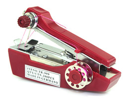 Wholesale 2014 Lowest Price Mini Chain Stitch Sewing Machine Free Arm Sewing Machine Red Y4014C