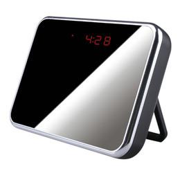 Multifunctional R C Alarm Clock & Motion Detection Spy DVR w  High Resolution & Long Recording Time - Black