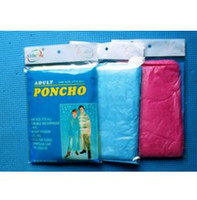 Wholesale adult Disposable PE emergency poncho Raincoat Poncho Rainwear Travel Rain Coat cm mixed colors