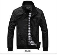 Wholesale Christmas and Halloween Men s clothing products men s leisure mandarin collar jacket Jackets Contracted fashion business casual coat