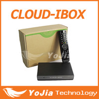 Wholesale 2pcs Cloud ibox Full HD DVB S2 Satellite Receiver Enigma Mini VU Solo cloud i box support Youtube IPTV streaming channels
