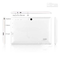 Wholesale 7 inch Tablet PC Q88 Q8 A33 Quad Core MB GB Android Dual Camera