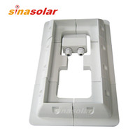 Place of Origin China (Mainland) solar panel price - Special Price White ABS Solar Panel Mounting Bracket Kits For Motorhome boat RV Yacht