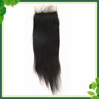 Free Shipping Lace Top Closure 3. 5*4 inch Straight Virgin Br...