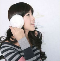 Wholesale Simple fashion essential warm Plush Ear Warmers earmuff Drop shipping H0709