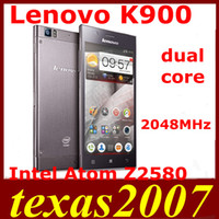 Cheap Android lenovo k900 Best Intel Atom Z2580 2GB k900