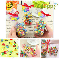 Wholesale Happy365 Mini erasers Christmas gift for children pack