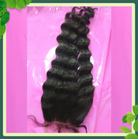 Free Shipping Lace Top Closure Peruvian Virgin Human Hair Lo...