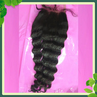 Free Shipping Loose Wave Lace Closure Brazilian Hair 10- 20 i...