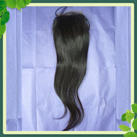 Hot Sell Straight Lace Top Closure Brazilian Virgin Hair 8- 2...
