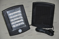 Wholesale GHJB1075 New Outdoor Solar LED Security Spot Light With Motion Detector
