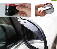 Wholesale Car Rrain Shield Flexible Peucine Car Rear Mirror Guard Rearview mirror Rain Shade LLY110
