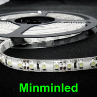 Wholesale 3528 M DC V warm white cool white blue green red LED Strip SMD Flexible light led m outdoor waterproof IP65 Ribbon