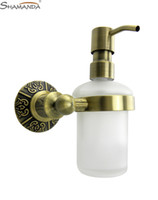 bathroom soap dispenser brass - bathroom brass bronze finishing soap dispensers included dull polish bottle brass glass soap holder
