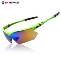 Wholesale INBIKE Bicycle Sunglasses Road Cycling Goggles Polarization Riding Glasses Removable Glasses legs