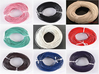 100 Meters Multifunction Real Leather Cord Round Thong Gorge...