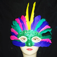 Wholesale 20pcs Cheap Multi Color Hot Selling Masquerade Party Masks for Masquerade Dresses MA24